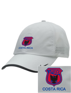 Costa Rica Soccer Embroidered Nike Dri-FIT Swoosh Perforated Cap