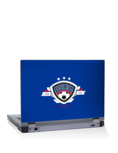 "Costa Rica Soccer 15"" Laptop Skin"