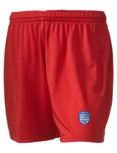 "Cuba Soccer Embroidered Holloway Women's Performance Shorts, 5"" Inseam"