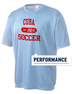Cuba Soccer Men's Competitor Performance T-Shirt