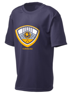 Curacao Soccer  Holloway Kid's Zoom Performance T-Shirt