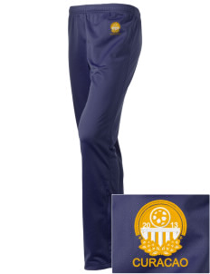 Curacao Soccer Embroidered Holloway Women's Contact Warmup Pants