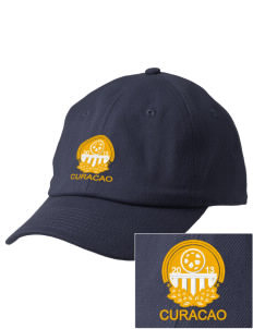 Curacao Soccer Embroidered Champion 6-Panel Cap