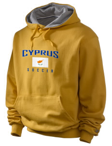 Cyprus Soccer Champion Men's Hooded Sweatshirt