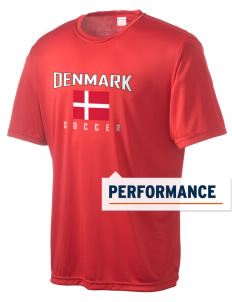 Denmark Soccer Men's Competitor Performance T-Shirt