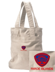 Faroe Islands Soccer Embroidered Alternative The Berkeley Tote
