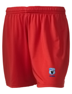 "Gambia Soccer Embroidered Holloway Women's Performance Shorts, 5"" Inseam"