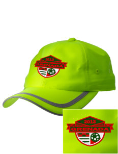 Grenada Soccer  Embroidered Safety Cap