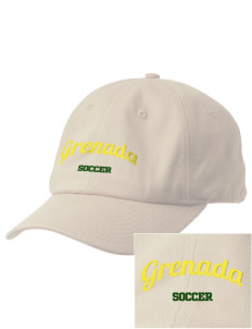 Grenada Soccer Embroidered Champion 6-Panel Cap