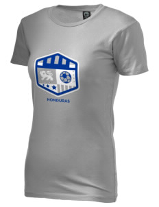 Honduras Soccer Alternative Women's Basic Crew T-Shirt