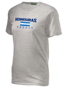 Honduras Soccer Alternative Unisex Eco Heather T-Shirt