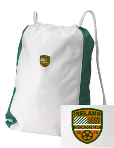 Republic of Ireland Soccer Embroidered Holloway Home and Away Cinch Bag