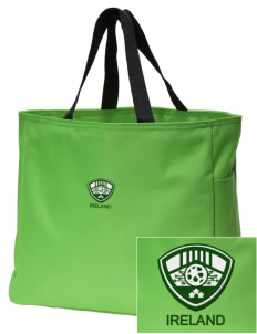 Republic of Ireland Soccer Embroidered Essential Tote