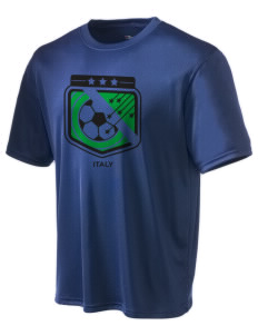 Italy Soccer Champion Men's Wicking T-Shirt