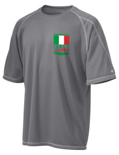 Italy Soccer Champion Men's 4.1 oz Double Dry Odor Resistance T-Shirt