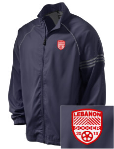 Lebanon Soccer Embroidered adidas Men's ClimaProof Jacket