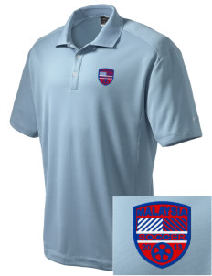 Malaysia Soccer Embroidered Nike Men's Dri-Fit Classic Polo