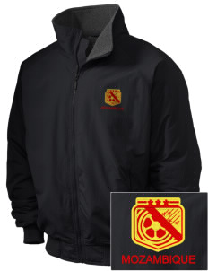 Mozambique Soccer Embroidered Holloway Men's Tall Jacket