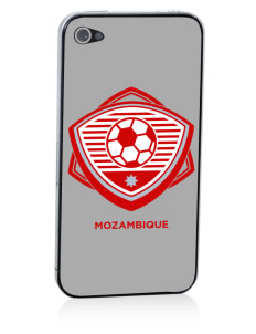 Mozambique Soccer Apple iPhone 4/4S Skin