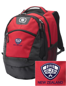 New Zealand Soccer Embroidered OGIO Rogue Backpack