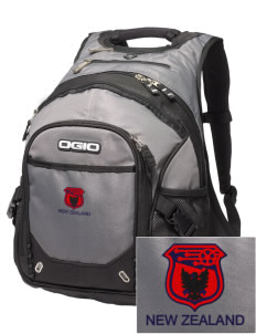 New Zealand Soccer Embroidered OGIO Fugitive Backpack