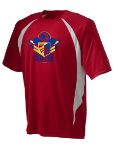 Romania Soccer Champion Men's Double Dry Elevation T-Shirt