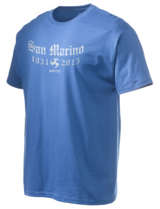 San Marino Soccer Hanes Men's 6 oz Tagless T-shirt