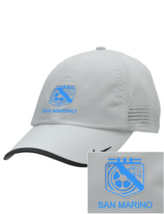 San Marino Soccer Embroidered Nike Dri-FIT Swoosh Perforated Cap