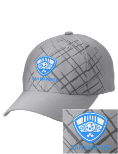 San Marino Soccer Embroidered Mixed Media Cap