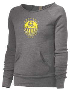 Senegal Soccer Alternative Women's Maniac Sweatshirt