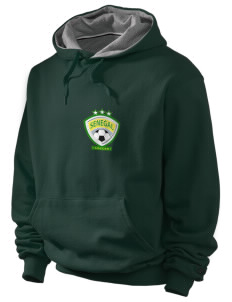 Senegal Soccer Champion Men's Hooded Sweatshirt