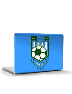 "Solomon Islands Soccer Apple MacBook Pro 15"" & PowerBook 15"" Skin"