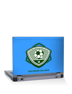 "Solomon Islands Soccer 15"" Laptop Skin"