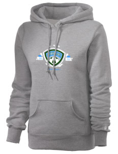 Solomon Islands Soccer Russell Women's Pro Cotton Fleece Hooded Sweatshirt