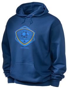 Sweden Soccer Holloway Men's 50/50 Hooded Sweatshirt