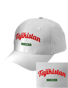 Tajikistan Soccer Embroidered Low-Profile Cap