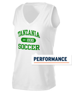 Tanzania Soccer Women's Performance Fitness Tank