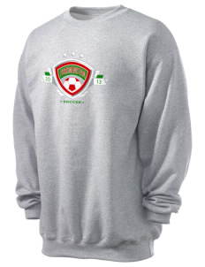 Turkmenistan Soccer Men's 7.8 oz Lightweight Crewneck Sweatshirt