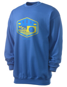 Ukraine Soccer Men's 7.8 oz Lightweight Crewneck Sweatshirt