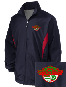 United Arab Emirates Soccer Embroidered Holloway Men's Full-Zip Jacket
