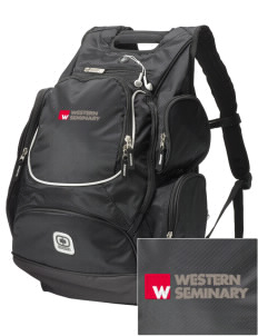 Western Seminary Est. 1927  Embroidered OGIO Bounty Hunter Backpack