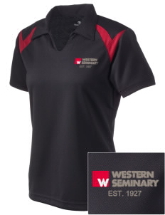 Western Seminary Est. 1927 Embroidered Holloway Women's Laser Polo
