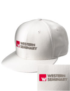 Western Seminary Est. 1927  Embroidered New Era Flat Bill Snapback Cap