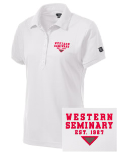 Western Seminary Est. 1927 Embroidered OGIO Women's Jewel Polo