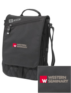 Western Seminary Est. 1927 Embroidered OGIO Module Sleeve for Tablets