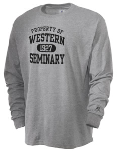 Western Seminary Est. 1927  Russell Men's Long Sleeve T-Shirt