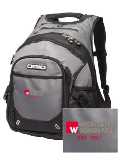 Western Seminary Est. 1927 Embroidered OGIO Fugitive Backpack