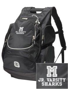 Mitchell Elementary School Sharks  Embroidered OGIO Bounty Hunter Backpack
