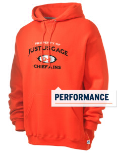 Justus Gage Elementary School Chiefains Russell Men's Dri-Power Hooded Sweatshirt