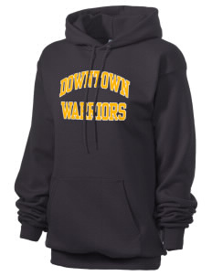 Downtown Middle School Warriors Unisex 7.8 oz Lightweight Hooded Sweatshirt